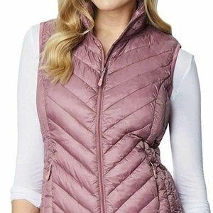 32 DEGREES Women's Packable Vest Small Fig Berry S